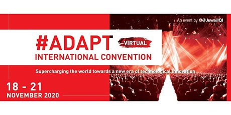#ADAPT International Convention -  World's Largest Online Tech Conference tickets