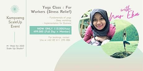 Kelas Yoga untuk Profesional Yogyakarta tickets