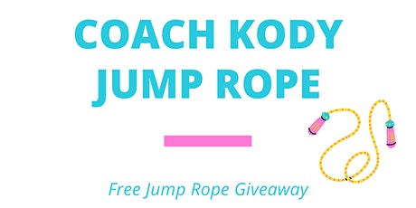 Free Kids Jump Rope Giveaway tickets