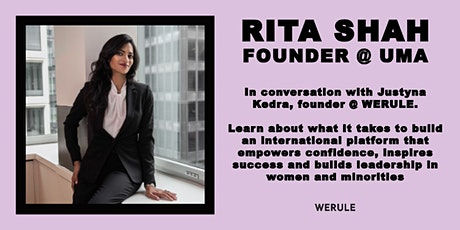 IG Live with Rita Shah: Her Journey From Goldman Sachs to CEO tickets