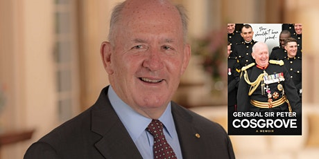 General Sir Peter Cosgrove 'in conversation' tickets