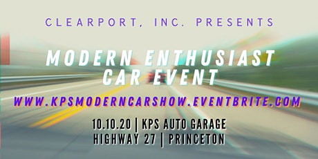 Modern Enthusiast Car + Live Art Show at KPS Auto Garage tickets