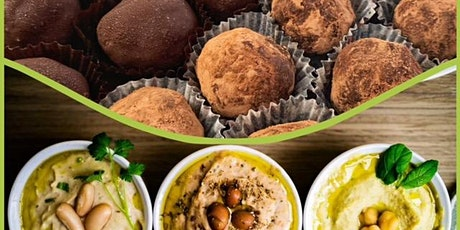 Vegan Cooking Class - Chocolate Truffles + Delicious Savory Dips tickets