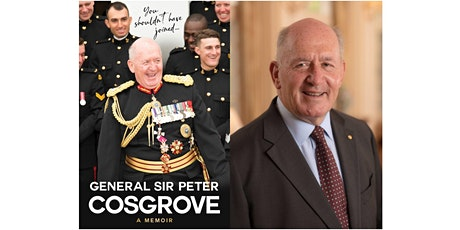 Sir Peter Cosgrove in conversation tickets