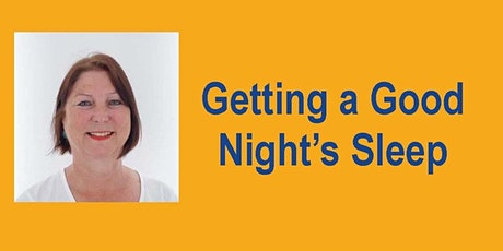 Hear Fiona Johnston: Getting a Good Night's Sleep tickets