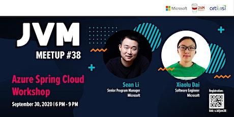 JVM Meetup #38 : Azure Spring Cloud Workshop tickets