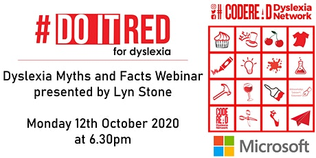 Dyslexia Myths and Facts tickets