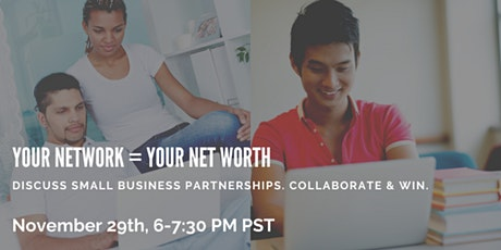 Your Network=Your Net Worth Event (1-on-1 Conversations With Small Business Owners of BC) tickets