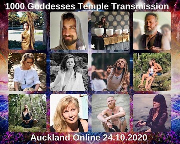1000 Goddesses Global Gathering | Online Auckland 24th October 2020 12-3pm image