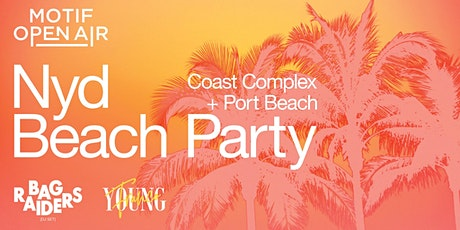 Motif Open Air // NYD Beach Party tickets
