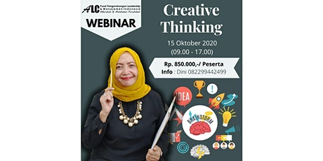 Training Online Webinar Creative Thinking ALC Leadership & Management tickets