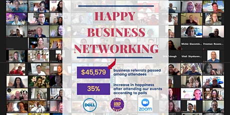 Free Happy Business Networking (Silicon Valley) [89095071304] tickets