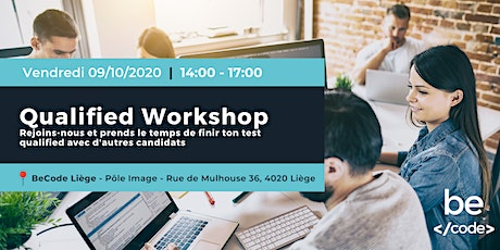 BeCode - Qualified Workshop - AI Liège billets