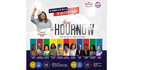 THE HOUR IS NOW CONFERENCE IS ON THE 3RD OF OCTOBER WHILE OUTREACH IS 2ND. tickets