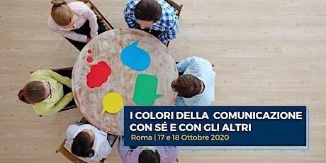 PNL UTILE | I colori della comunicazione con sé e con gli altri biglietti