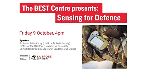 The BEST Centre presents: Sensing for Defence tickets