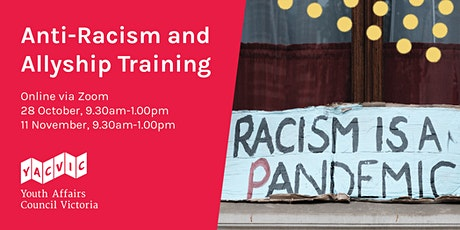 Anti-racism and Allyship Training tickets