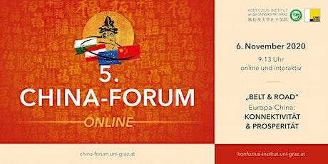 """5. China-Forum  """"Europa-China: KONNEKTIVITÄT & PROSPERITÄT"""" Tickets"""