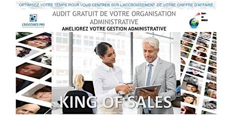 La gestion administrative  d'une entreprise billets