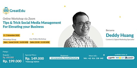 Tips & Trick Social Media Management For Elevating your Business tickets