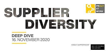LGBT*IQ DEEP DIVE: Supplier Diversity - Vorbildliche Handelsbeziehungen Tickets
