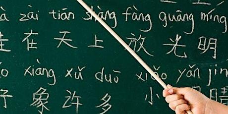 Lezione prova gratuita di Lingua Cinese biglietti