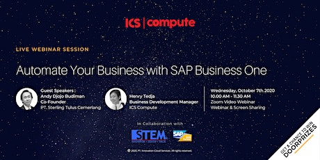 Automate Your Business With SAP Business One tickets