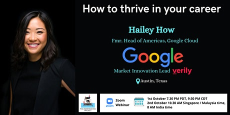 How to thrive in your career,by a seasoned Googler tickets