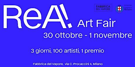 ReA! Art Fair biglietti