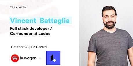 Apero Talk with Vincent Battaglia, full-stack developer tickets