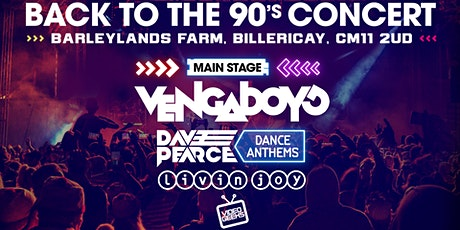Essex Back to the 90's Open Air Concert 2021 tickets