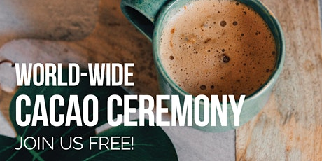 World-Wide Virtual Cacao Ceremony for the New Moon tickets