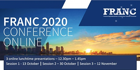 FRANC 2020 Conference - Online tickets