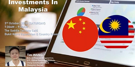 Chinese Investments in Malaysia tickets