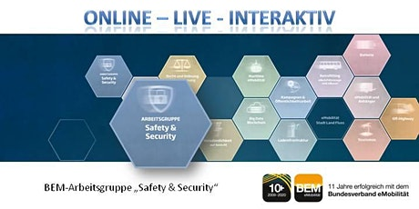 "ONLINE-BEM-Arbeitsgruppe ""Safety & Security"" November 2020 Tickets"