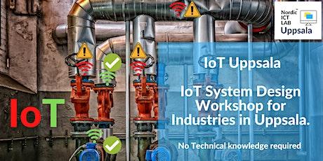 IoT Uppsala - Workshop & Matchmaking 2020. biljetter