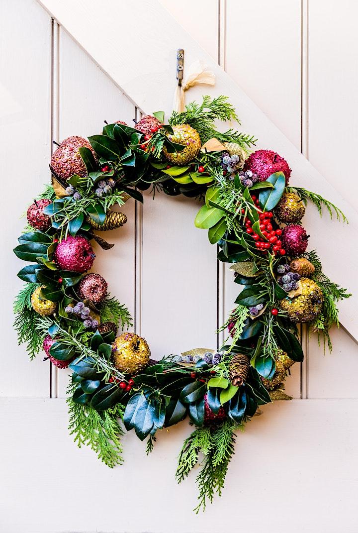 Christmas Door Wreath Making Demonstration image
