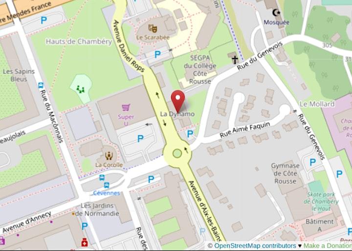 Image de [EN PRÉSENTIEL] Mapathon Missing Maps à Chambéry @LaDynamo