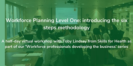 Workforce Planning Level One: introducing the six steps methodology tickets
