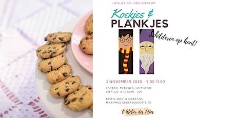 Koekjes & Plankje - Schilderworkshop kinderen - Magische Tovenaars tickets