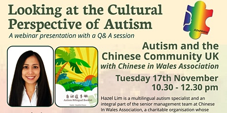Autism and the Chinese Community UK tickets