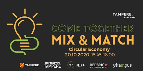 Mix & Match Networking Event - Circular Economy tickets