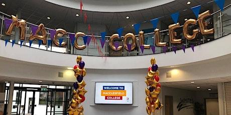 Macclesfield College Open Evening - October 2020 tickets
