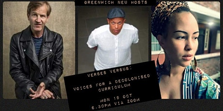 Verses Versus - Voices for a decolonised curriculum tickets