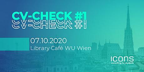 CV-Check #1 @WU Wien Tickets