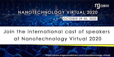 2nd Edition of Nanotechnology Virtual 2020 tickets