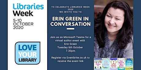 Erin Green in conversation with Warwickshire Libraries tickets