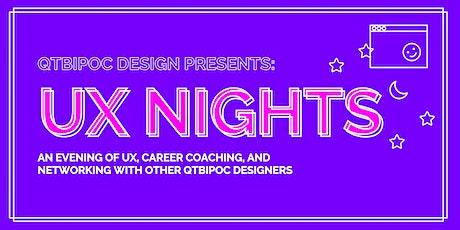 QTBIPOC Design Presents: UX Nights tickets