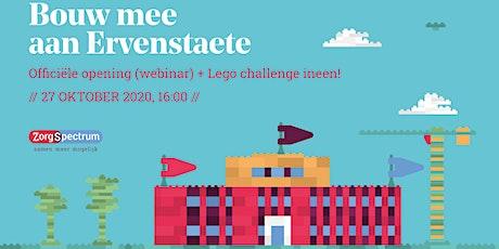 Bouw mee aan Ervenstaete (webinar, opening en lego-challenge in één) tickets