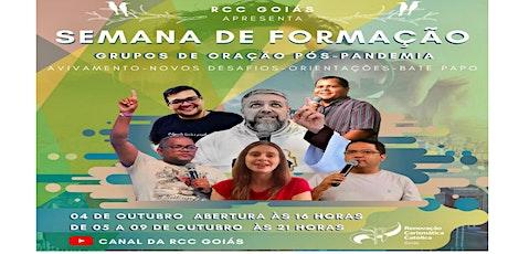 ABERTURA DA SEMANA DE FORMAÇÃO - RCC ingressos